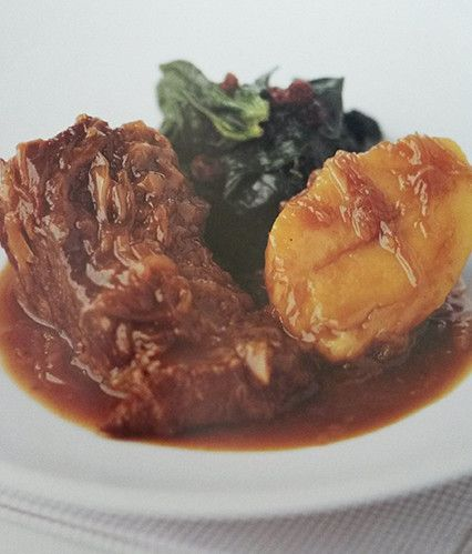 Beef and Potatoes braised in Guinness - Gary Rhodes